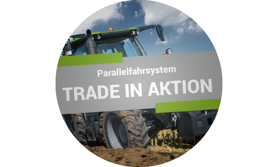 Deutz Parallelfahrsystem Trade In Aktion